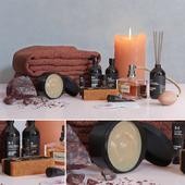Декоративный набор для ванной 8