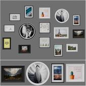 Collection photo frame _ set 06