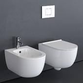Alice Ceramica Unica Wall-Hung WC
