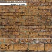 Wall Materials Set 28