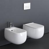 Alice Ceramica Nur Wall-Hung WC