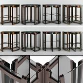 Вращающийся входные двери / Revolving entrance doors