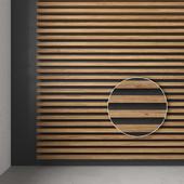 Рейки деревянные шпонированные декоративные