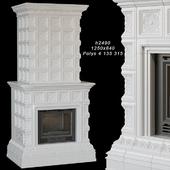 Tile fireplace 02