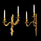 Louis Xv Ormolu Wall Light
