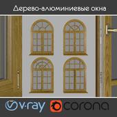 Wood - aluminum windows, view 05 part 02 set 05