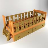 детская кровать Мишутка
