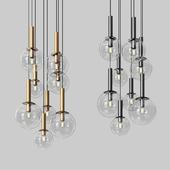 Sonneman Bubbles 8 Light Multi Pendant