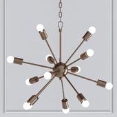 Loft Industrial Sputnik Chandelier
