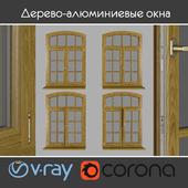 Wood - aluminum windows, view 05 part 02 set 07