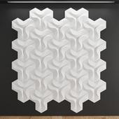 Gypsum 3D panel Coral