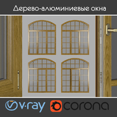 Wood - aluminum windows, view 05 part 02 set 10