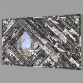 oxidized mirror
