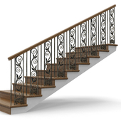 wooden stairs 003