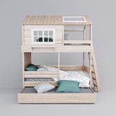 """Кровать Мое местечко фабрики """"Буквуд"""""""