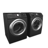 Samsung Front Load Washer and Electric Dryer