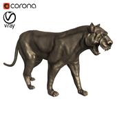 Статуя черной пантеры