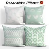 Decorative pillows set 320 BLUETTEK