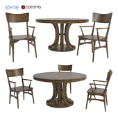 Modern tables and chairs