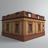 old corner house