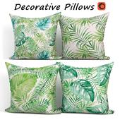 Decorative pillows set 321 BLUETTEK