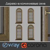 Wood - aluminum windows, view 04 part 02 set 01