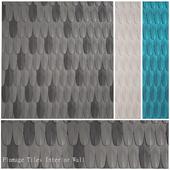 Plumage Tiles Interior Wall