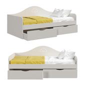 Диван-кровать детская серии Амстердам от фабрики Мандарин