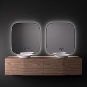 INBANI FORMA Wooden vanity unit