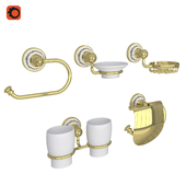 OM Accessories Fixsen Bogema Gold for the bathroom