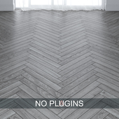 Grey Ash Wood Parquet Floor Tiles vol.004 in 2 types