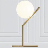 Michael Anastassiades for FLOS IC Table Lamp with Sphere Shade