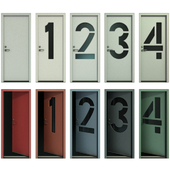 Door with numbers (Part I)
