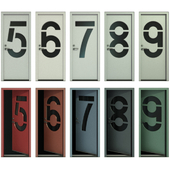 Door with numbers (Part II)