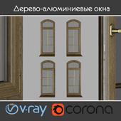 Wood - aluminum windows, view 04 part 02 set 04
