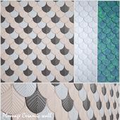 Plumage Ceramic wall