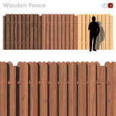 Wooden Fence IV