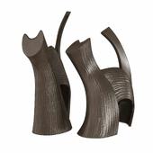 Darius and Suri ceramics sculpture by gardeco 3d model