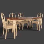 TABLES AND CHAIR VENETA SEDIE