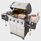 Gas grill Broil King REGAL S440 PRO