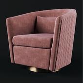 Clara Swivel Barrel Chair