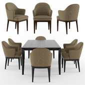 Tosconova Bice chair Club table