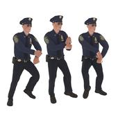 Policeman is dancing (animation)