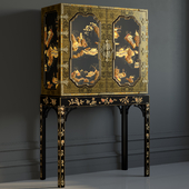 BAKER GeorgeIII Oriental Lacquer Cabinet