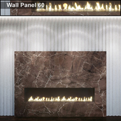 Wall Panel 60. Fireplace