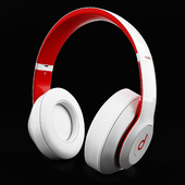 Headphones Beats Studio 3 White & Red