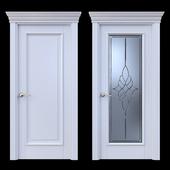 Дверь Белоравуд АРТ1 Белая