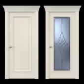 Дверь Белоравуд АРТ1 Крем