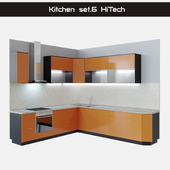 Kitchen Set.6 Hi-Tech (HiTech)