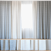Curtains 94 | Curtains with Tulle | Backhausen | Rebbio grande